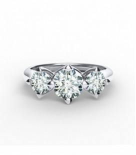 Forevermark Setting™ Three Diamonds Gyűrű