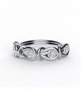 Encordia™ Eternity Gyűrű (4 köves)