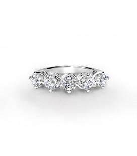 Forevermark Setting™ Öt Köves Gyűrű