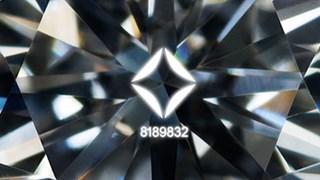 Forevermark Inscription egyedi gyémánt jelzés