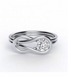 Encordia™ Szoliter Band Gyűrű (0,30-0,38)