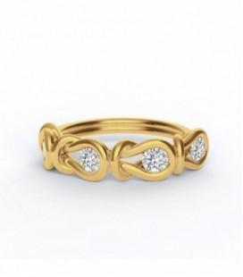 Encordia™ Eternity Gyűrű (sárga arany)