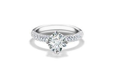 Forevermark eljegyzési gyűrű